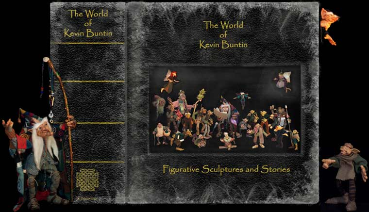 Book cover - Click to enter the World Of Kevin Buntin